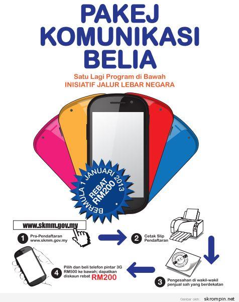 Tiada had harga pembelian telefon pintar menggunakan rebat RM200
